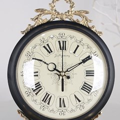 로렐 앤틱 탁상시계 (블랙) 탁상 시계 디자인 추카_(1222278)