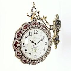 앤틱 럭셔리 양면시계 RQ1114-01 자주색