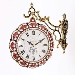 앤틱 럭셔리 양면시계 ( RQ1114-01 ) 레드