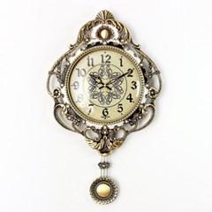 엔티크 듀크 추저소음 벽시계 그레이 시계