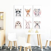아이방 액자 동물 그림 포스터 10종