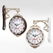 북유럽 고급 거실 엔틱 벽걸이양면시계