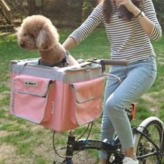 강아지 자전거 바구니 캐리어 이동장, 드라이빙킷, 애완견 이동가방
