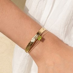 Rectangle Gemstone Bracelet