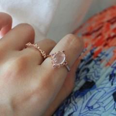 장미석 빅토리아 로즈 반지