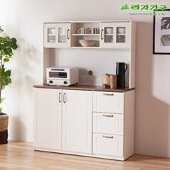 라자가구 오브 보노 와이드 서랍주방수납+상부장세트 AP0189