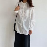 브릿 헨리넥 그램 셔츠