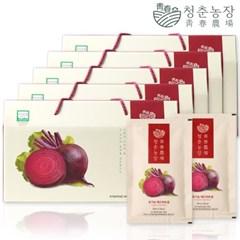 청춘농장 유기농 레드비트즙 5박스 150포_(2120615)
