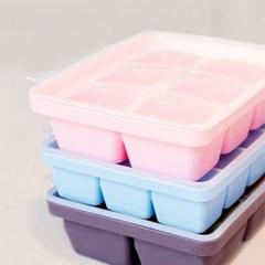 모니  이유식기 유아식기 용기 실리콘 이유식 큐브