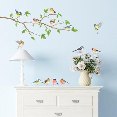 나무와 귀여운 새 DA-1804