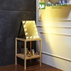 [우아미] 퍼블릭 LED 탁상용 거울_(1726395)