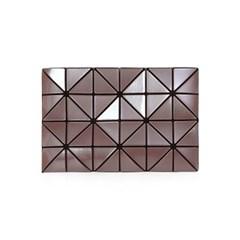 BAO BAO 바오바오 LUCENT METALLIC CLUTCH BAG Cocoa 루_(1161609)