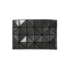 BAO BAO 바오바오 LUCENT METALLIC CLUTCH BAG Charcoal_(1161608)
