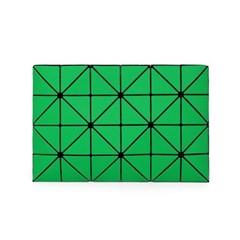 바오바오 BAOBAO LUCENT TWILL POUCH Green 루센트 트윌_(1161626)
