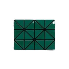 바오바오 BAOBAO CARD CASE W COLOR Green x Turquoise_(1161665)