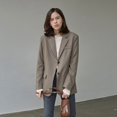 CLASSIC OVER TAILORED JACKET_KHAKI