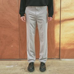 EASY WIDE LONG SLACKS_LIGHT GRAY
