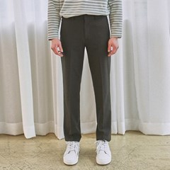 EASY WIDE LONG SLACKS_BLACK