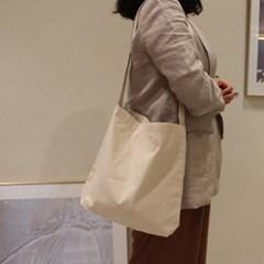 [꼬까참새] ECOBAGS_Recycled Cotton Sling Bag