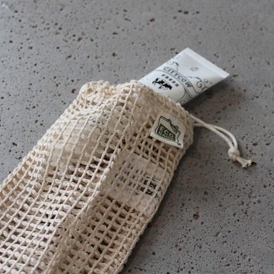 [꼬까참새] ECOBAGS_Organic Cotton Mesh Ditty Bag