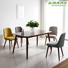 라자가구 오브 코즈 패브릭원목 식탁의자 NE0103