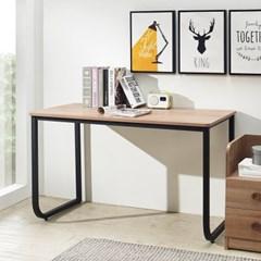[데코마인] 시에라 스틸책상 1200 철제책상 원목테이블