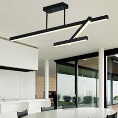 LED 스피노 사각 펜던트 1200 3등-36W
