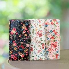 갤럭시노트5 (N920) Jardine 꽃무늬 지갑 다이어리 케이스