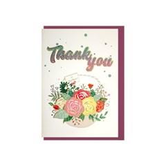 025-SG-0089 / 글리터 감사선물 카드