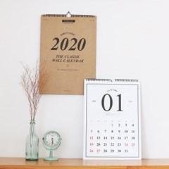 2020 워너디스 클래식 월 캘린더(A3)