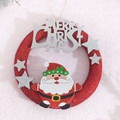 동글 산타링 25cmP 트리 리스 크리스마스 장식 TROMCG_(1503275)