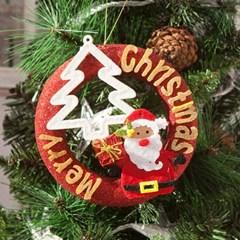 산타 트리 레드링 15cm 트리 리스 크리스마스 TROMCG_(1503270)