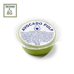 [산로렌조]아보카도 퓨레 55g (100% 아보카도) X 7개