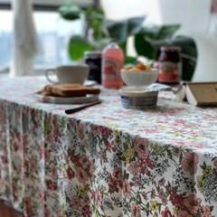 가을들꽃 아이보리 식탁보 테이블보 2size 테이블러너