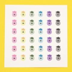 [한톨상점]명탐정 반곰이 스티커