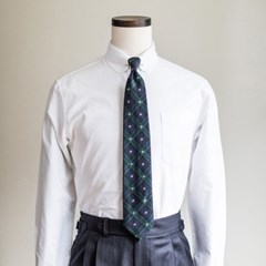 DT BLACK WATCH WOOL TIE (green)