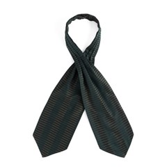 DB STRIPE CRAVAT (green)