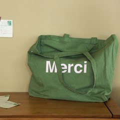 Merci totebag KAKI