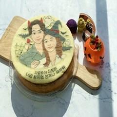 🎃 할로윈 디자인 원형케이크 🎃