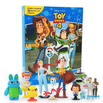 My Busy Books : Disney Toy Story 4 피규어북
