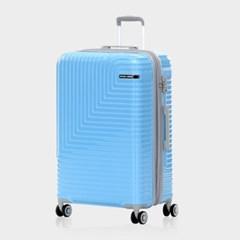 미치코런던 쿠키 확장형 블루 20인치 캐리어 여행가방