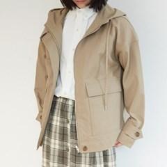 simple hood cotton jumper (beige)_(1352675)
