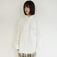 patch point cotton shirt (ivory)_(1352666)
