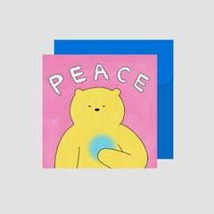 Peace 메시지 카드