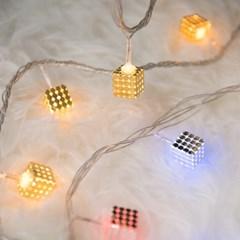 LED 전구캡 다이스 1.5cm (4개입) 트리 전구 TRLECV_(1514761)