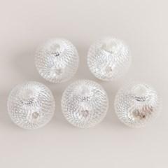 LED 전구캡 라인볼 5cm(4개입) 트리 전구 장식 TRLECV_(1514760)