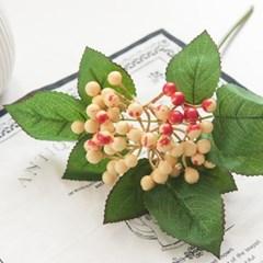 열매가지28cm FAIAFT 조화 꽃 인테리어소품_(1511161)