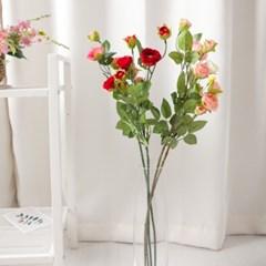 실크장미가지72cm FAIAFT 조화 꽃 인테리어소품_(1511159)