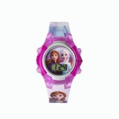 겨울왕국2 키즈 손목시계 (퍼플)