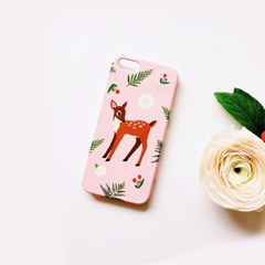 Oh My Deer Pink 하드/카드범퍼케이스 (전기종)